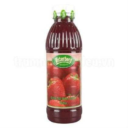 Sinh tố Osterberg Dâu tây (Strawberry) – chai 1L