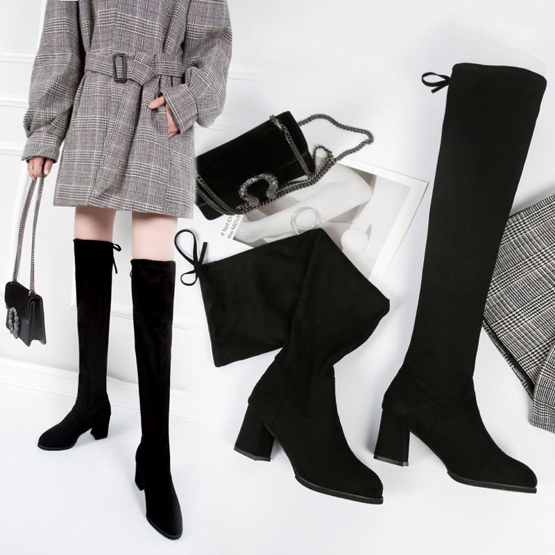 giày bốt cao qua gối thời trang dành cho nữ - 22302787 , 4404631898 , 322_4404631898 , 251100 , giay-bot-cao-qua-goi-thoi-trang-danh-cho-nu-322_4404631898 , shopee.vn , giày bốt cao qua gối thời trang dành cho nữ