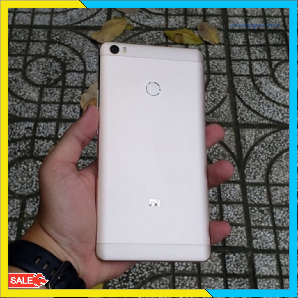 [Mã 267ELSALE hoàn 7% đơn 300K] Điện thoại xiaomi mi max màn hình khủng 6.44 inch 2 sim