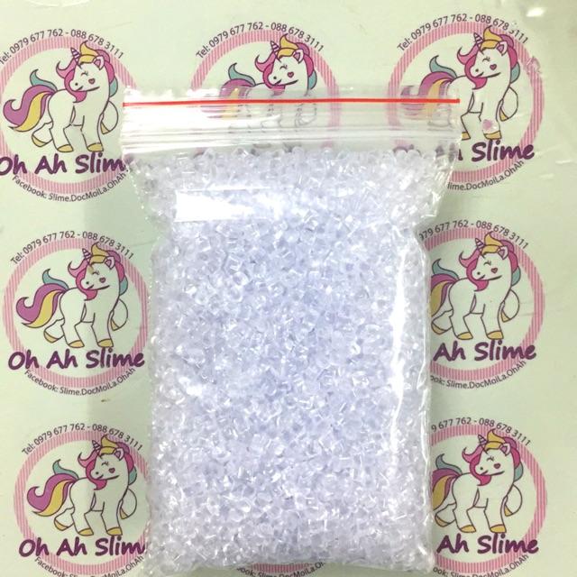 Hạt sugar nguyên liệu làm slime