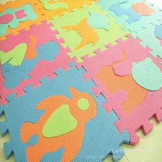 Combo 10 miếng thảm số cho bé tập làm quen với các con số và nhận biết màu sắc ngay từ nhỏ