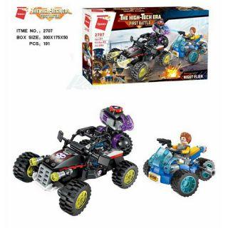 Lego Bộ đồ chơi xếp hình QMAN 2707 – Trận Chiến Trong Đêm