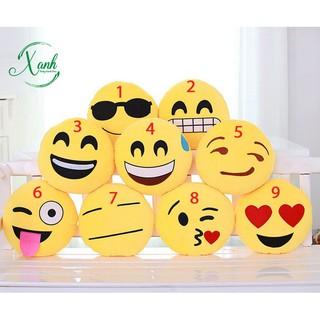 Gối mặt cười siêu dễ thương – gối sticker đa cảm xúc, hàng đẹp xuất dư