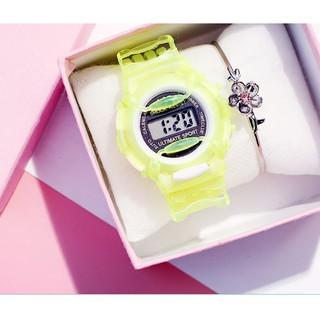 Đồng hồ điện tử đeo tay DODO dành cho trẻ em nhiều màu dễ thương