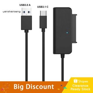 """Dây Cáp Chuyển Đổi USB 3.0 / 3.1 Sang 2.5 """"Cho Ổ Cứng SSD HDD"""