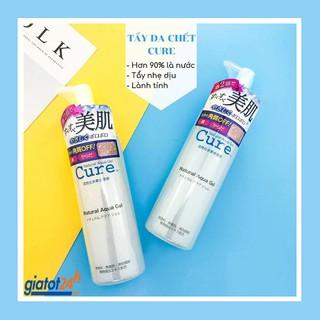 Tẩy da chết Tẩy Tế Bào Chết Cure Natural Aqua Gel nội địa Nhật Bản 250g (mẫu mới) thumbnail