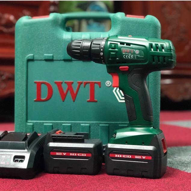 Máy khoan pin 12v DWT có đồ - 14155825 , 2276549349 , 322_2276549349 , 1054500 , May-khoan-pin-12v-DWT-co-do-322_2276549349 , shopee.vn , Máy khoan pin 12v DWT có đồ