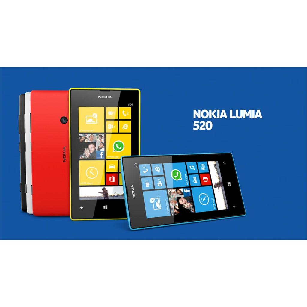 [SALE 10%] Điện thoại Nokia Lumia 520 zin 1 sim fullbox