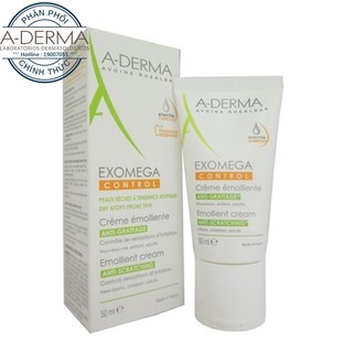 Kem dưỡng ẩm Aderma Exomega Control Emollient Cream