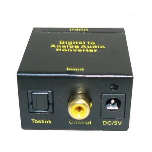 Bộ chuyển âm thanh quang học Optical tặng kèm cáp sạc và dây quang 1m