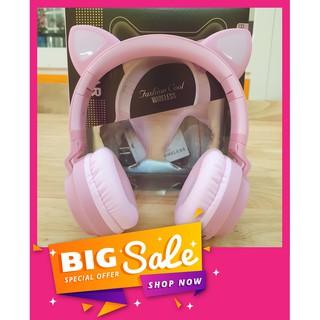 Tai Nghe Tai Mèo [ Có Mic ] Bluetooth 5.0, HEADPHONE CATEAR Model BT028C [ Chống Ồn ], [ Bass Chắc ], [ Êm Tai ] Misthy