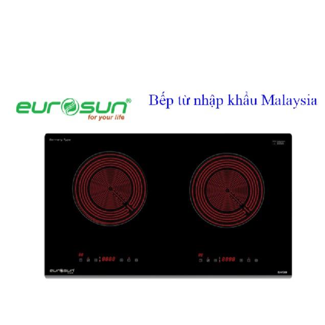 Bếp điện hồng ngoại 2 lò EUROSUN EU IF268S nhập khẩu Malaysia