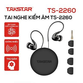 Chính hãng Tai nghe kiểm âm, tai nghe nhét tai cao cấp Takstar TS2260 bảo hành 6 tháng thumbnail