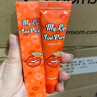[Chính hãng ]Son xăm môi Hàn Quốc Berisom Chu My Lip Tint Pack Vivid scalet -Màu cam đỏ thumbnail