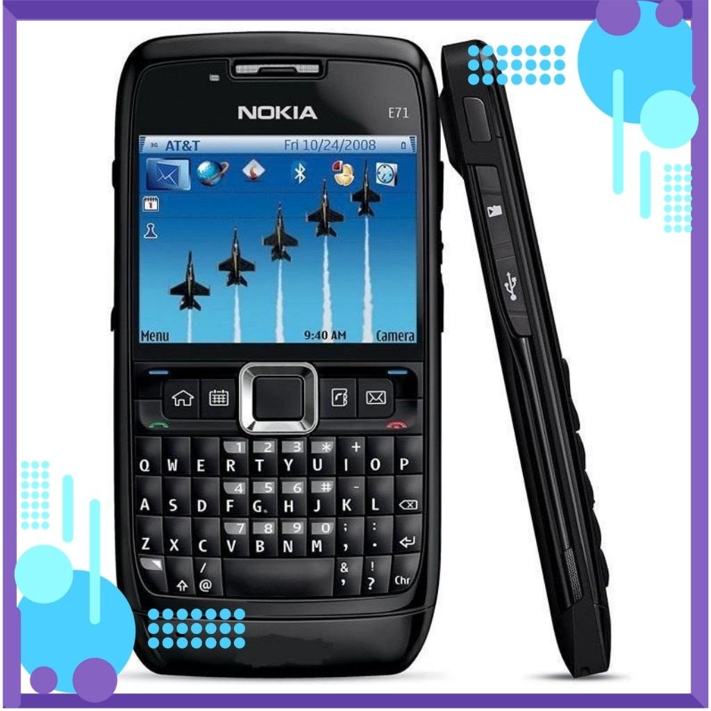 Điện Thoại Nokia E71 Wifi Chính Hãng Bảo Hành 12 Tháng - Kèm Pin Sạc
