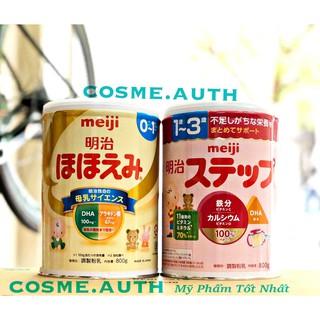 ( Date 06 2021 ) Sữa Meiji Nội Địa Nhật dạng Lon 800gr số 0 và 9 thumbnail