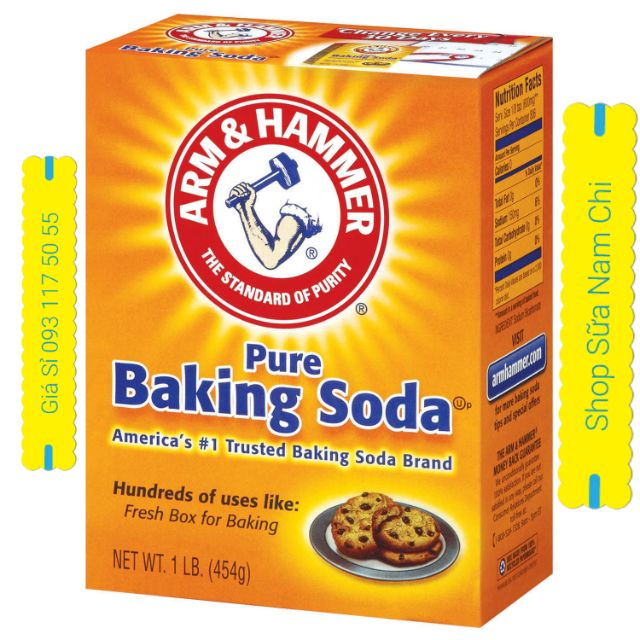 Bột Pure Baking Soda Nhập Khẩu Mỹ 454g - 3386359 , 1022169068 , 322_1022169068 , 21000 , Bot-Pure-Baking-Soda-Nhap-Khau-My-454g-322_1022169068 , shopee.vn , Bột Pure Baking Soda Nhập Khẩu Mỹ 454g