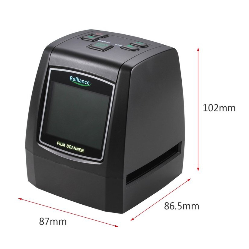 8.15【HOT】135mm/ 126mm/ 110mm/ 8mm High Definition Film Scanner Fast Photo Printed