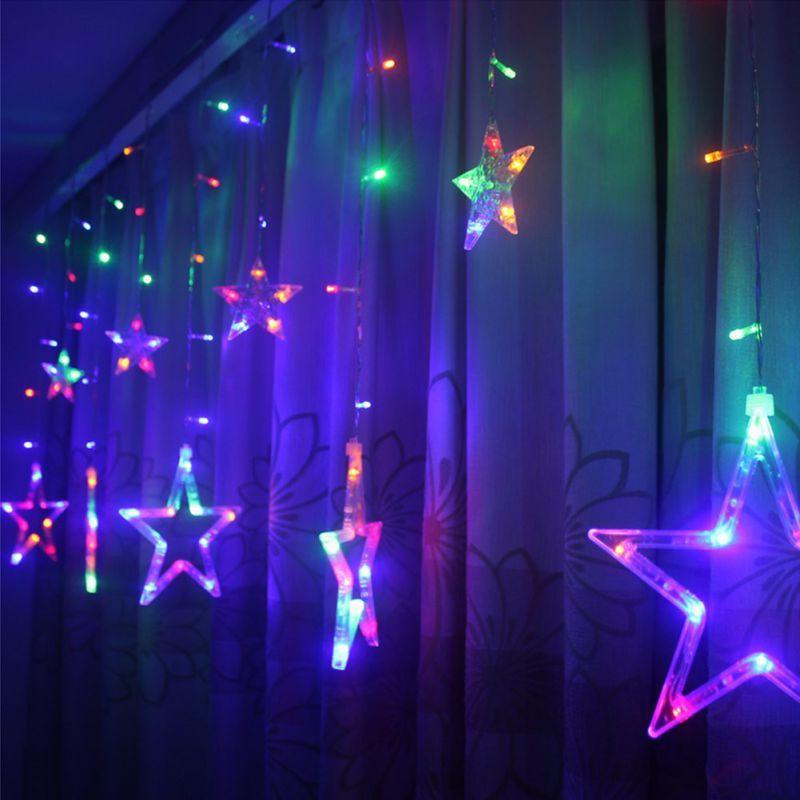 Đèn led rèm hình ngôi sao trang trí nhiều màu sắc - 2709495 , 908450074 , 322_908450074 , 140000 , Den-led-rem-hinh-ngoi-sao-trang-tri-nhieu-mau-sac-322_908450074 , shopee.vn , Đèn led rèm hình ngôi sao trang trí nhiều màu sắc