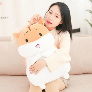 Hamster plush toy bed holding sleeping pillow doll doll doll girl birthday gift