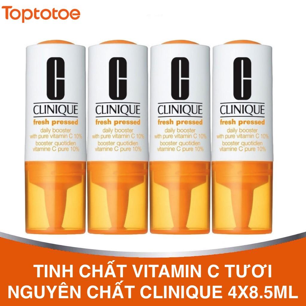 Tinh Chất Vitamin C Tươi Nguyên Chất Clinique Fresh Pressed Daily Booster with Pure Vitamin C 10% 8.5ml x 4