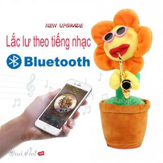Bông Hoa Lắc Lư Theo Tiếng Nhạc Kết Nối Bluetooth