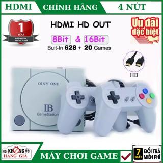 Máy Chơi Game playstation 4 Nút HDMI 628 trò nes+20 trò mới , tay cầm game , máy chơi game , ps4 thumbnail