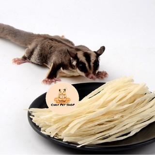Khô cá sợi trắng cho Hamster, Sóc Bông, Sóc Bay, Chó, Mèo, Sóc Đất... thumbnail