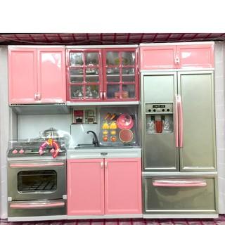 đồ chơi nhà bếp hiện đại lớn, 3 khối, dùng pin. Hộp 45x36x9cm. 26210P