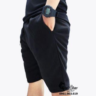 Yêu Thích+40-100kg Quần SHORT nỉ bigsize nam mặc ấm