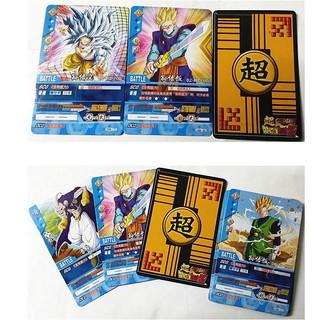 thẻ bài 7 Viên ngọc rồng siêu cấp DRAGON BALL ( hộp 18 lá ) càng mua càng rẻ