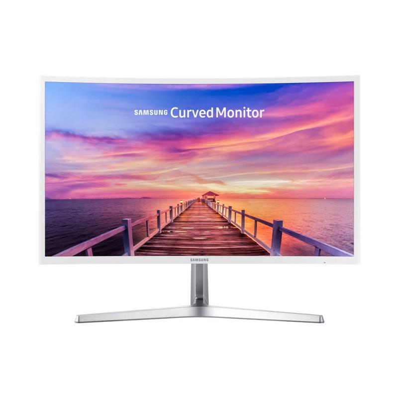 """Màn hình máy tính LCD 27"""" SAMSUNG LC27F397FHEXXV (Màu trắng-Full Viền)"""