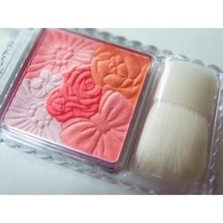 Phấn má hồng Canmake Glow Fleur Cheek Kèm cọ