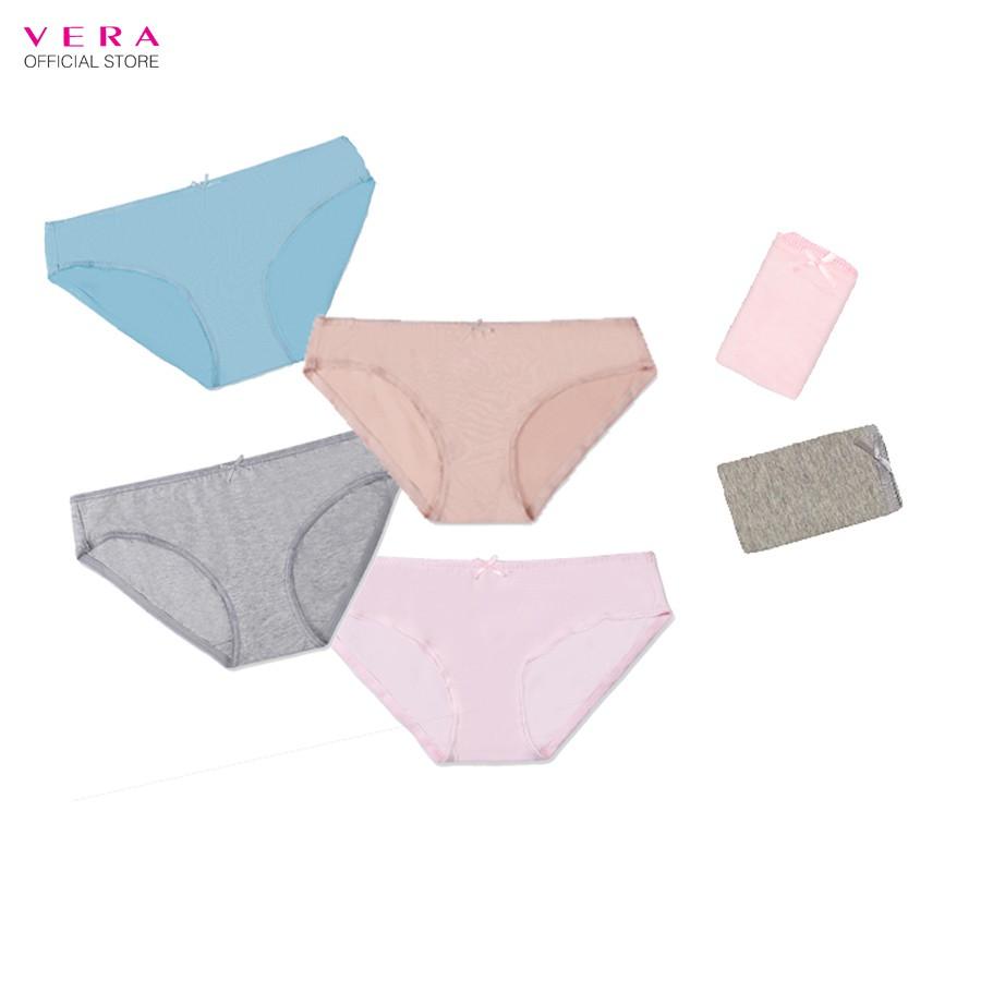 Combo 06 quần lót nữ cotton Modern Brief VERA 7167