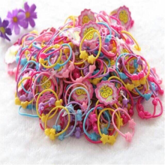 Combo10 bộ túi gồm 50 dây buộc tóc cho bé - 9965165 , 455508146 , 322_455508146 , 90000 , Combo10-bo-tui-gom-50-day-buoc-toc-cho-be-322_455508146 , shopee.vn , Combo10 bộ túi gồm 50 dây buộc tóc cho bé