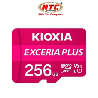 Thẻ nhớ MicroSDXC Kioxia Exceria Plus 256GB U3 4K V30 A1 R100MB/s W85MB/s (Tím)