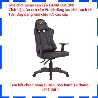 [Mã EDRAVDC01 giảm 200k] Ghế Gaming E-Dra Citizen EGC200 - Ghế chơi game cao cấp - Đỏ, Đen, Trắng và Xanh Green - Bảo thumbnail