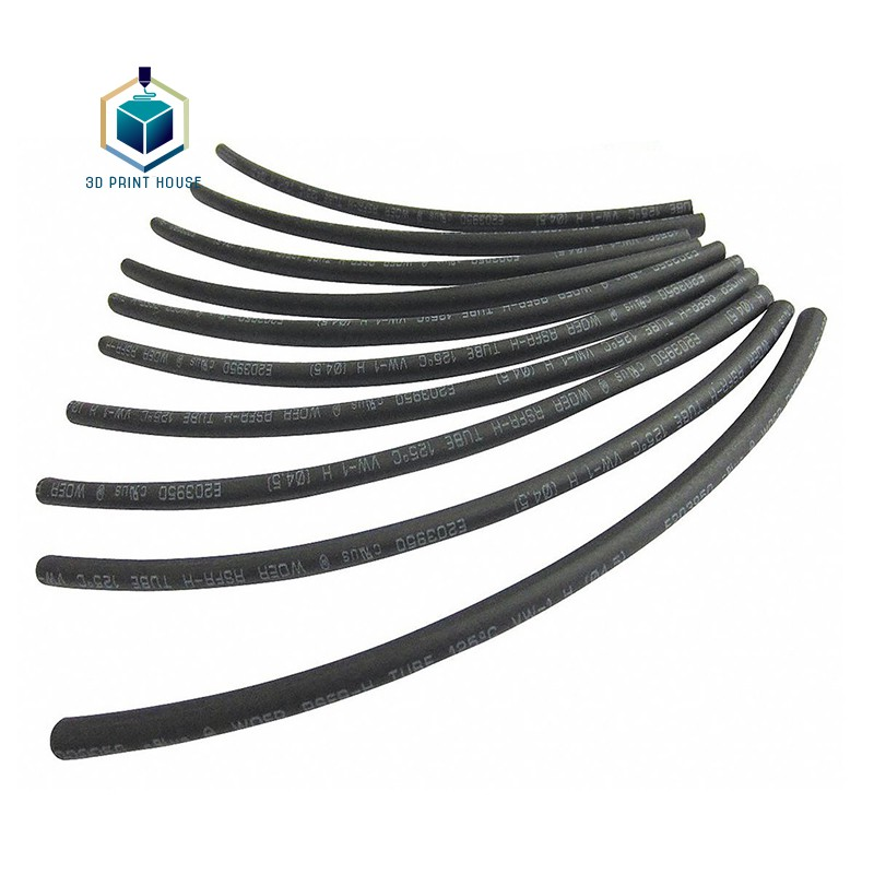 Ống co nhiệt bọc dây điện Phi 1.5 - 16 (1 mét)