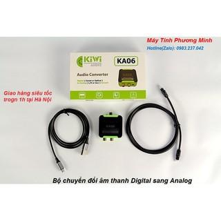 Bộ chuyển đổi âm thanh Digital sang Analog KA06 câp cấp - Hàng Chính hãng