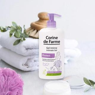 Gel vệ sinh phụ nữ Corine De Farme Intimate gel Protect 250ml Làm Sạch Và Giảm Cảm Giác Khó Chịu Vùng Kín 2