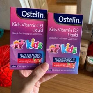 Osteline Vitamin D Liquid 200IU, Lọ 20ml (Úc) mẫu mới cho trẻ từ 6 tháng