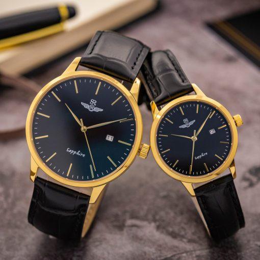 Đồng hồ nam nữ chính hãng SR WATCH SG3001.4601CV và SL3001.4601CV mặt kính Sapphire