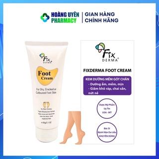 Kem dưỡng gót chân Fixderma Foot Cream 60g thumbnail