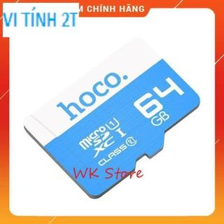 [KÈM QUÀ TẶNG] Thẻ nhớ Hoco 64Gb Class 10 tốc độ cao (hàng chính hãng, BH 1 năm)