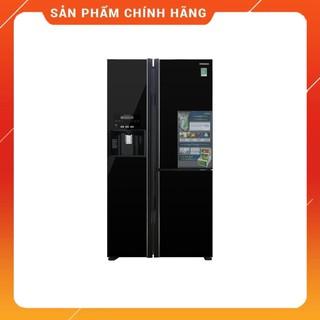 [ VẬN CHUYỂN MIỄN PHÍ KHU VỰC HÀ NỘI ] Tủ lạnh Hitachi Side by side 3 cửa màu đen R-FM800GPGV2(GBK) - [ Bmart247 ]