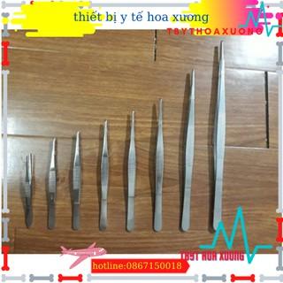 Nỉa thẳng y tế các sai 12 ,14 ,16,18, 20,25cm không mấu-nhíp y tế thumbnail