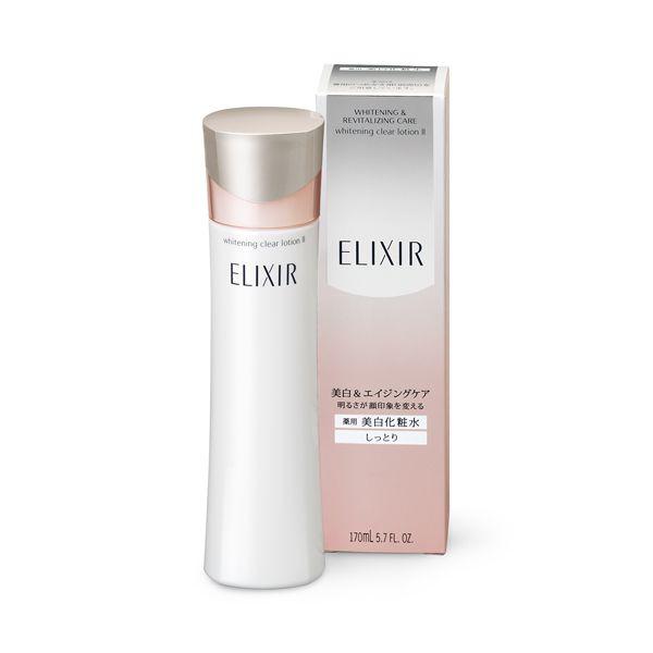Nước hoa hồng trắng da Shiseido ELIXIR Whitening Clear Lotion III (170ml) (Cho Da khô)