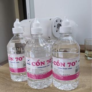 Cồn 70 Độ 500 ml Ethanol Sát Khuẩn Rửa Tay, Dùng Cho Máy Phun Khử Trùng Chai 500 ml SOPI thumbnail
