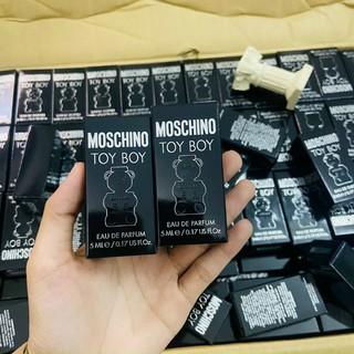 nước hoa moschino toy boy mini ( gấu đen)