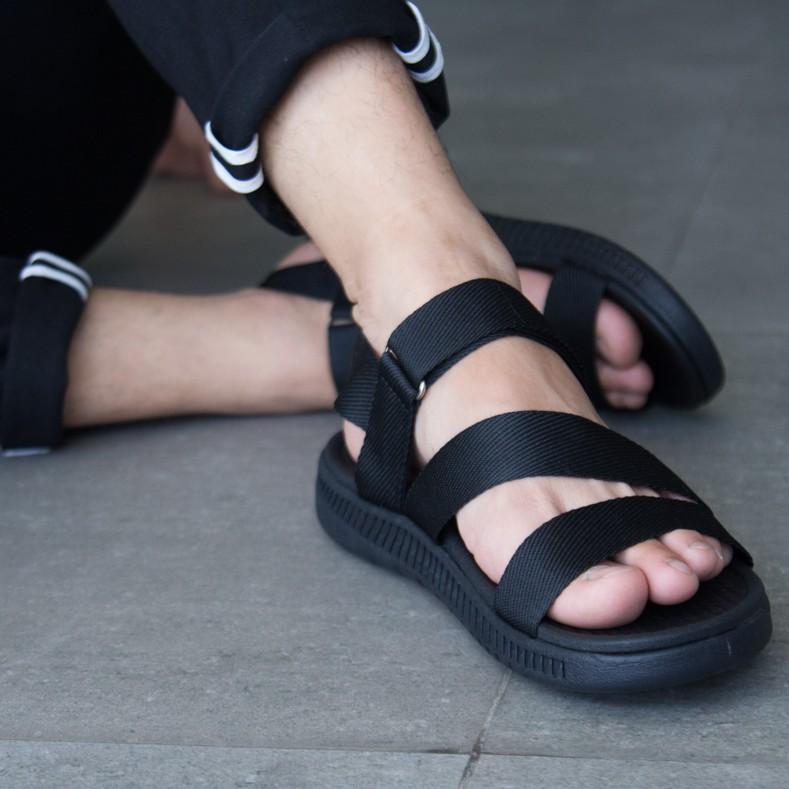 Giày sandal nam Facota HA01 chính hãng sandal thể thao quai dù